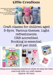 Little creations children's craft class