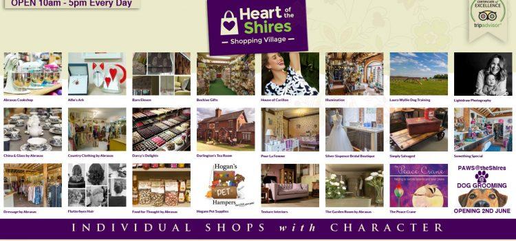 24 Independent shops – 1 Great Venue