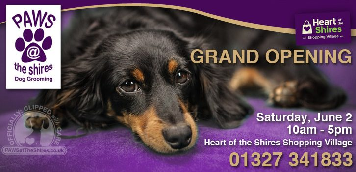 Paws at the Shires – Grand Opening