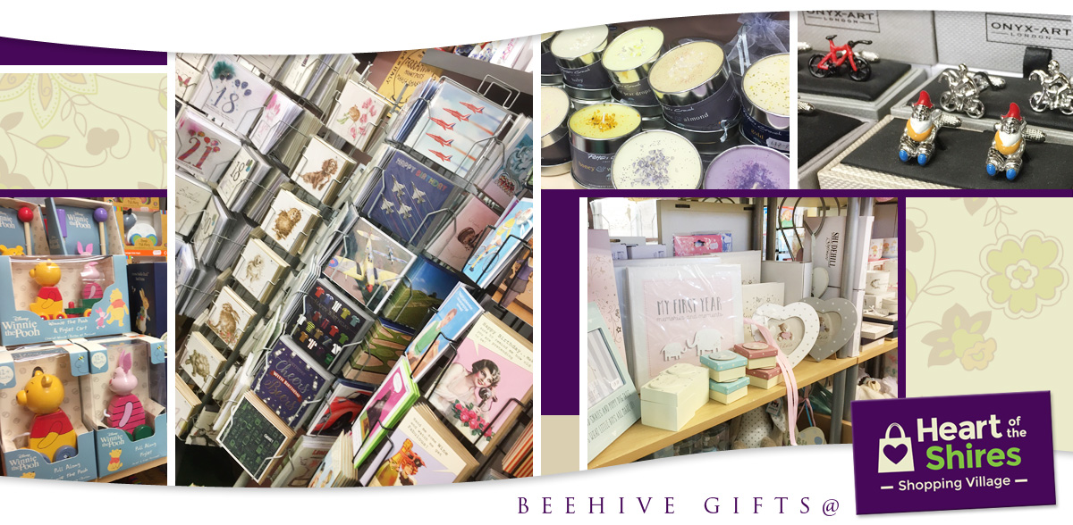 beehive gifts heart of the shires