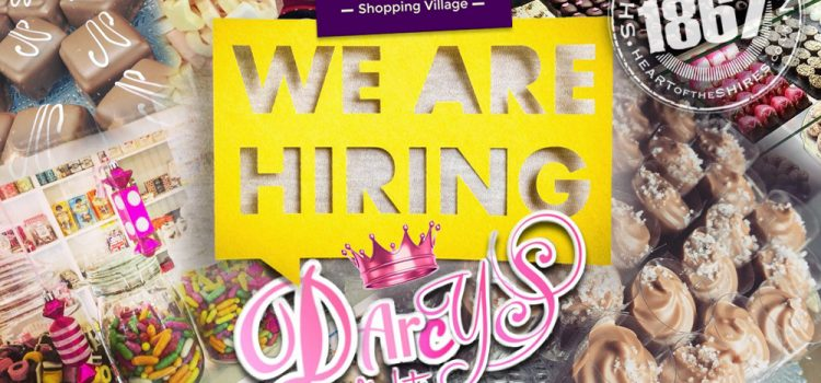 Darcy's Delights Are Hiring