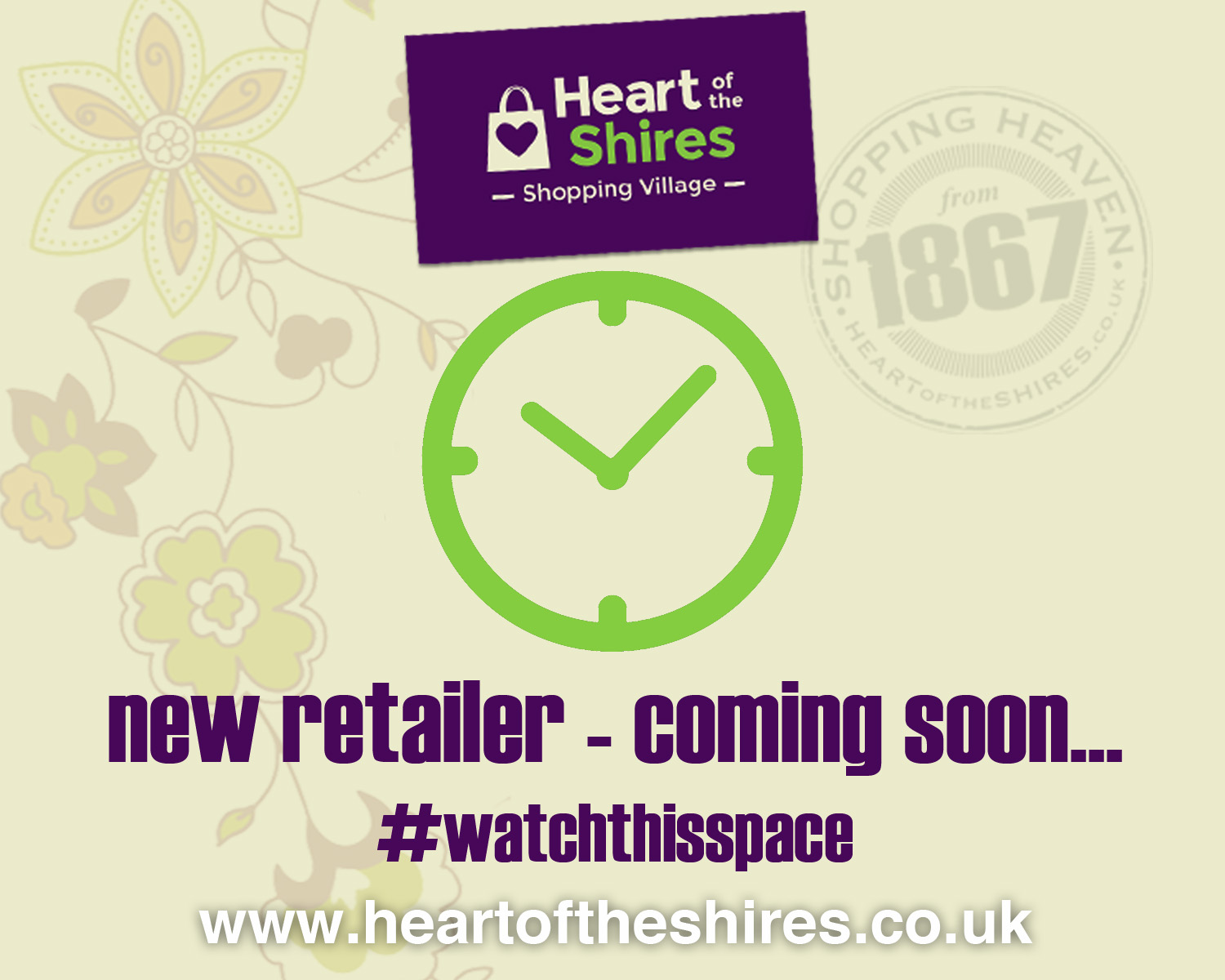 new retailer Heart of the Shires