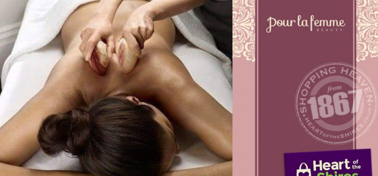Lava Shell Massage at Pour La Femme Beauty