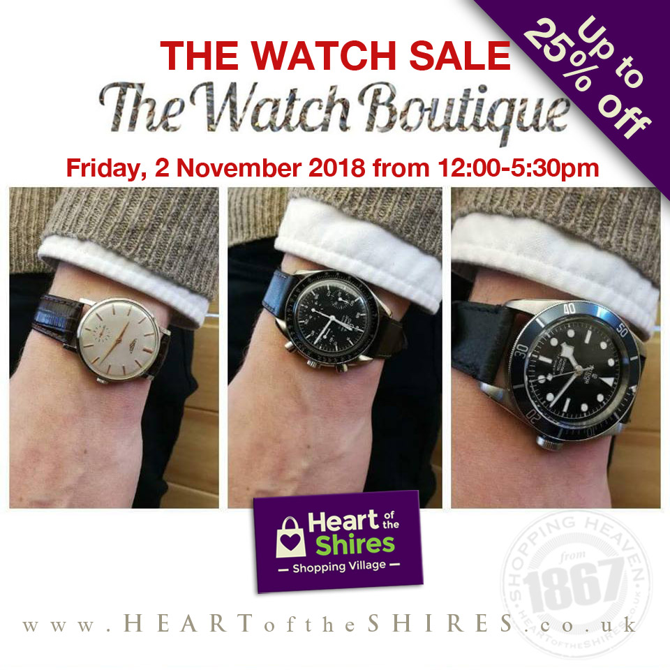 designer watches northamptonshire