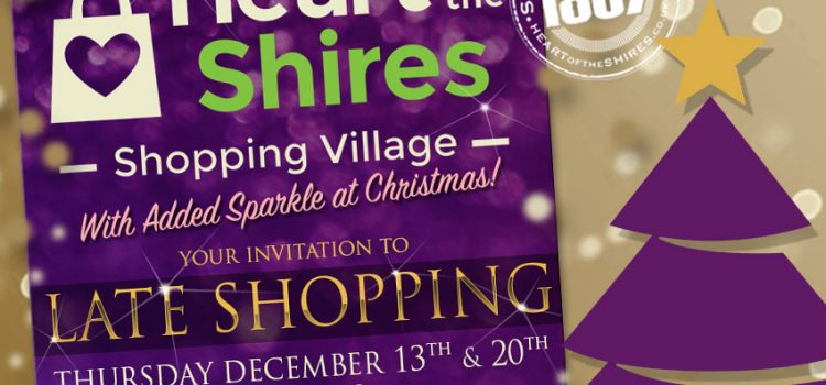 Late Night Shopping Evenings – Shop Late 'till 8