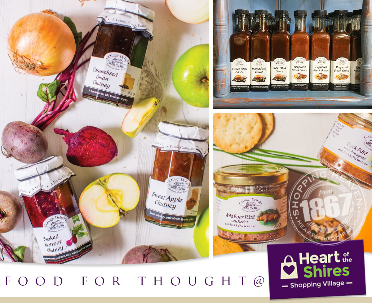 food for thought Heart of the Shires