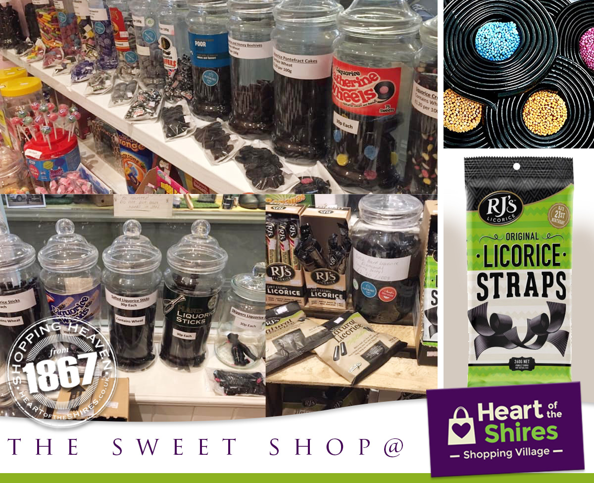 traditional liquorice sweet shop