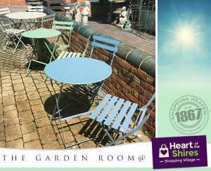 heart of the shires garden room
