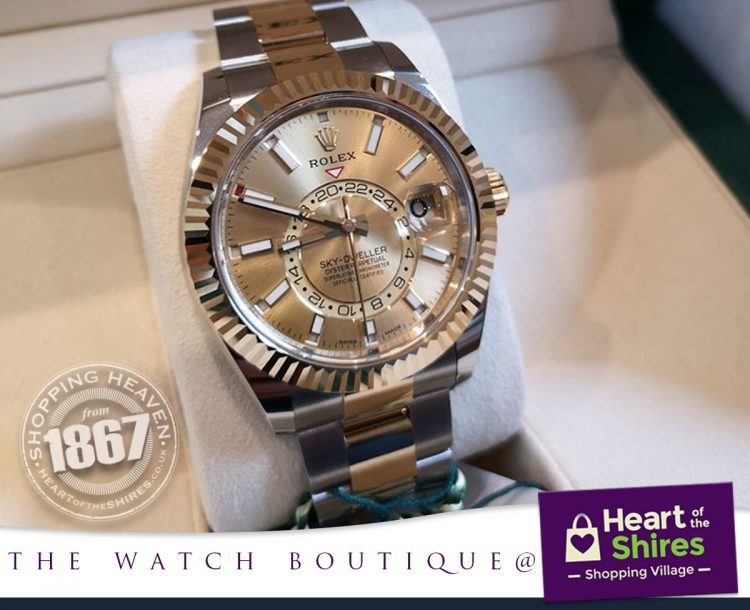 Rolex Skydweller at The Watch Boutique
