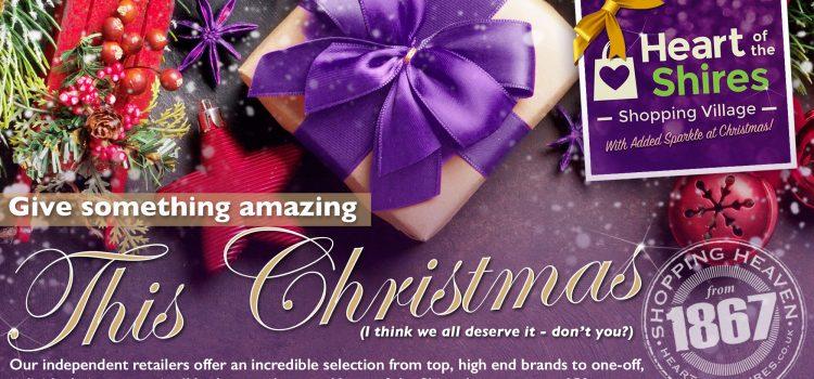 Christmas 'tis the season to shop early!
