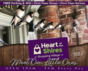 Heart of the Shires Shopping Village Swallows