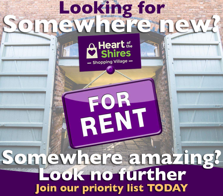 shop unit to rent northamptonshire