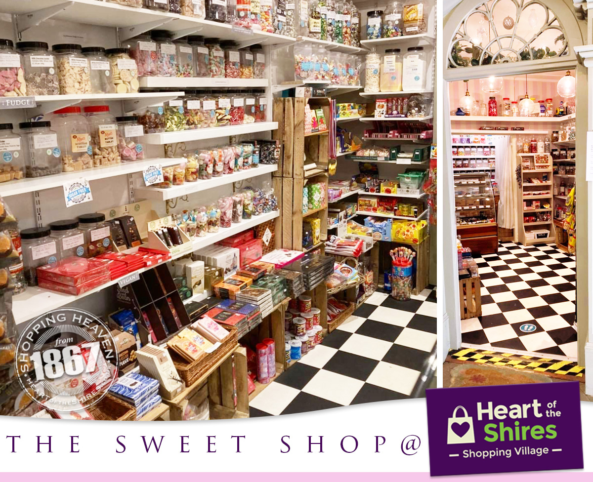 heart of the shires sweet shop