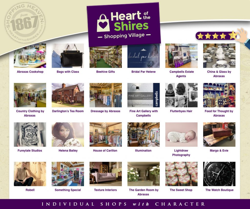 shops at Heart of the Shires