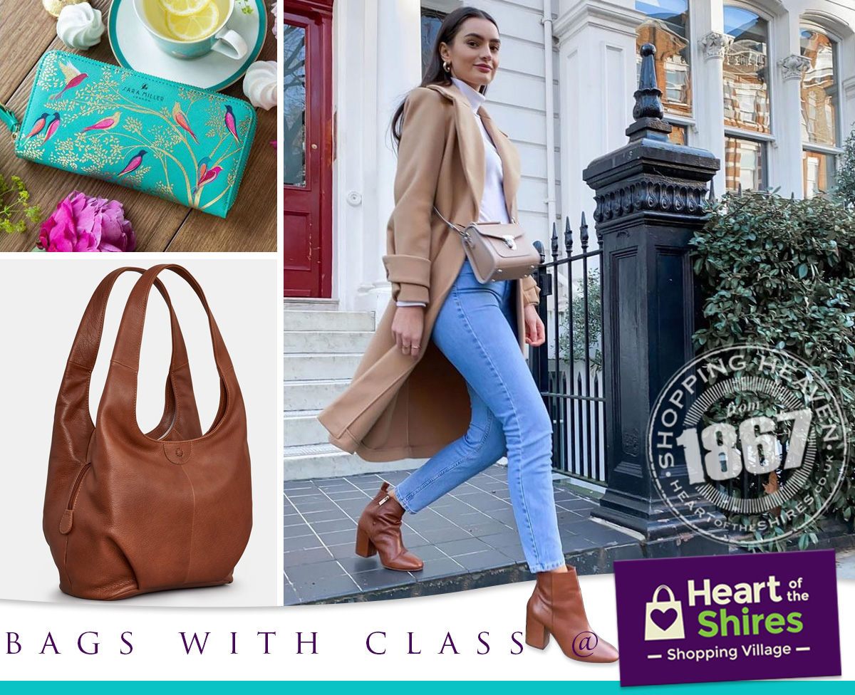 bags with class Heart of the Shires