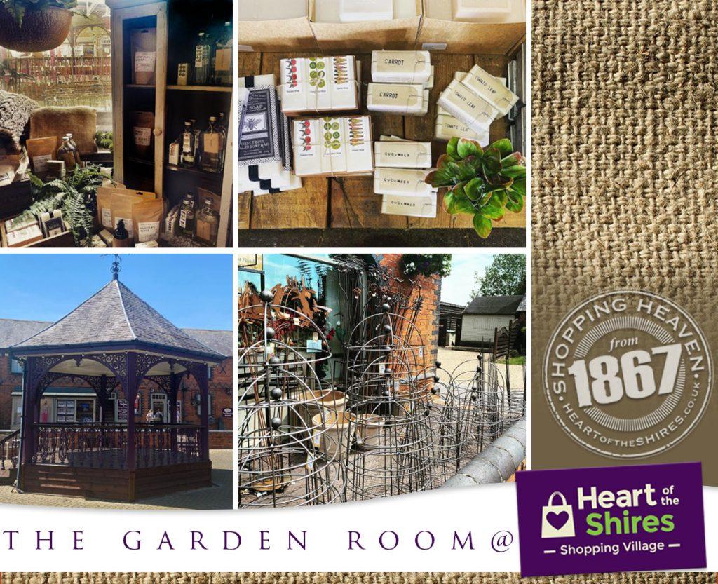 heart of the shires garden room