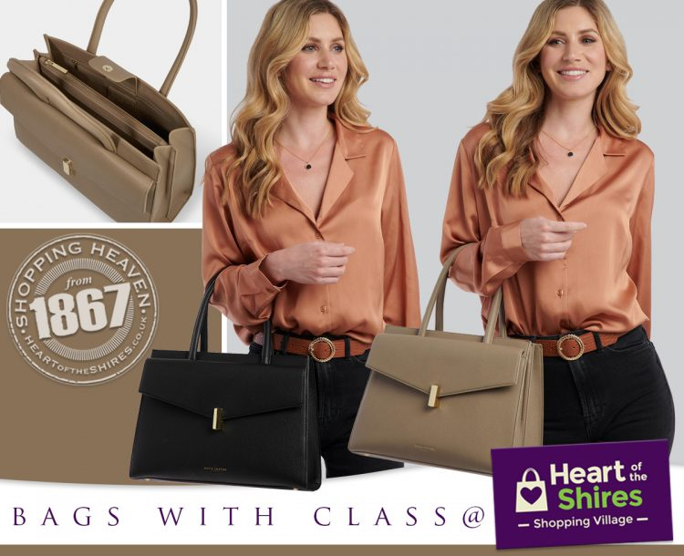 Katie Loxton with Bags of Class